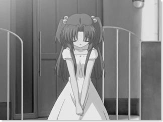 CLANNAD_14_kotomi_bow